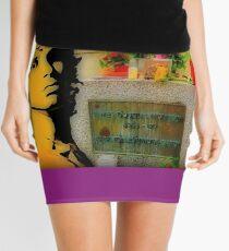 Jim Morrison Doors Tribute Mini Skirt