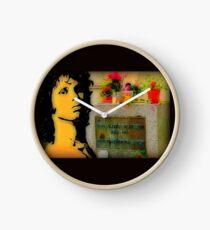 Jim Morrison Doors Tribute Clock