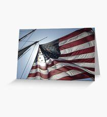 Go USA! Greeting Card