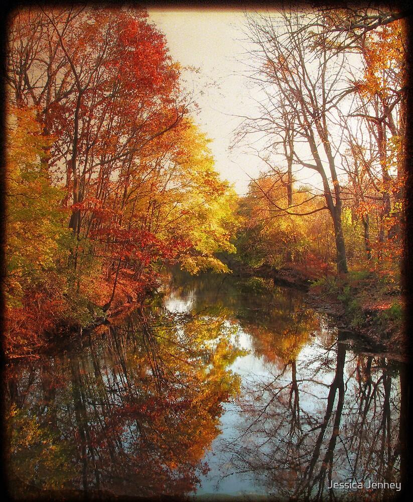 Pond Reflections by Jessica Jenney