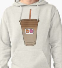 Dunkin Donuts Iced Coffee Pullover Hoodie