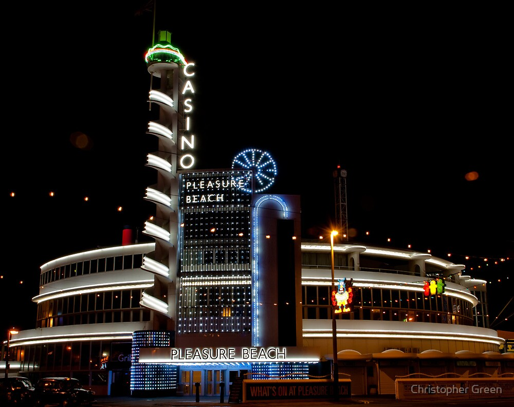 Blackpool Pleasure Beach Casino by Christopher Green