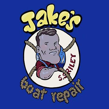 Jake's Boat Repair by Italianricanart