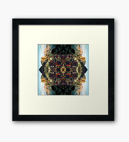 Cubism Dream Framed Print