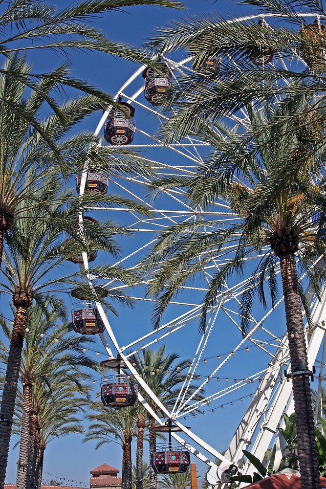 Date Palms and Ferris Wheel by Ron LaFond