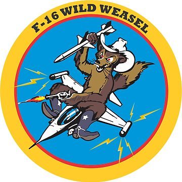 F-16 Wild Weasel - Clean Style by pzd501
