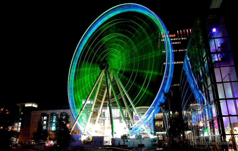 Manchester Wheel by Christopher Green