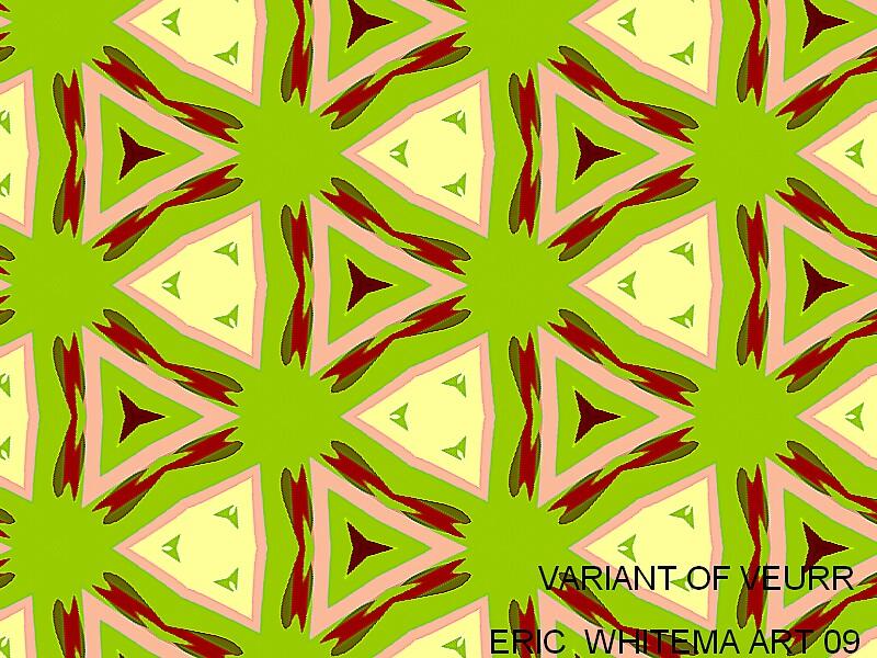 (VARTANT OF VEURR )  ERIC WHITEMAN  ART   by ericwhiteman