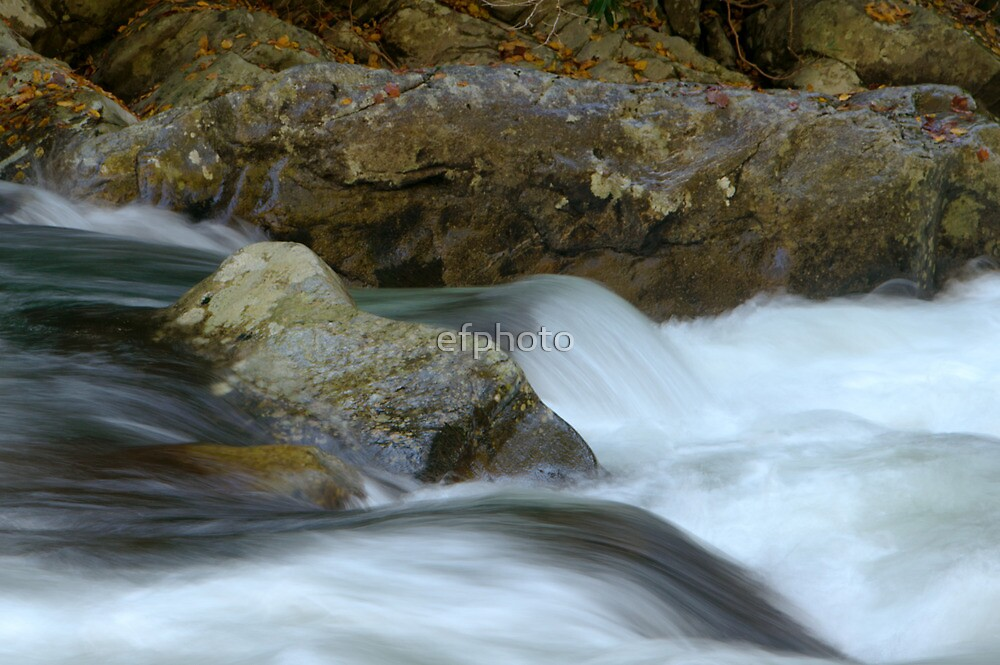 Flowing waters of the Smoky Mountains by efphoto