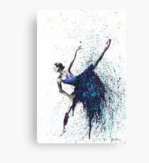 Grape Ballet Dance Canvas Print
