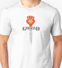 Hunter S. Thompson Gonzo Sticker & Shirt T-Shirt