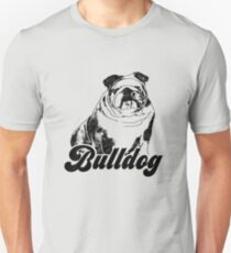 British Bulldog | Vintage Pet Animal Graphic  Unisex T-Shirt