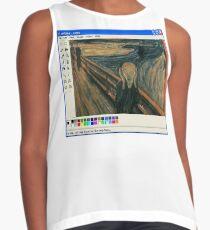 Microsoft Art Sleeveless Top
