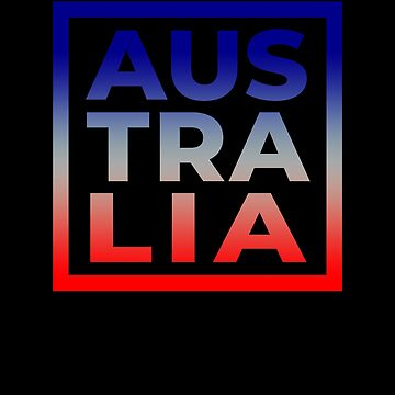 Australia Pride Australian Souvenir Country Flag Vacation by hlcaldwell
