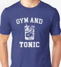 Gym and Tonic (sunny) Unisex T-Shirt