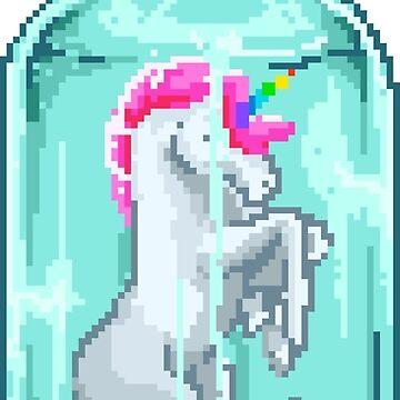 Unicorn in A Bottle by flipper42