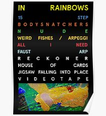 In Rainbows Poster