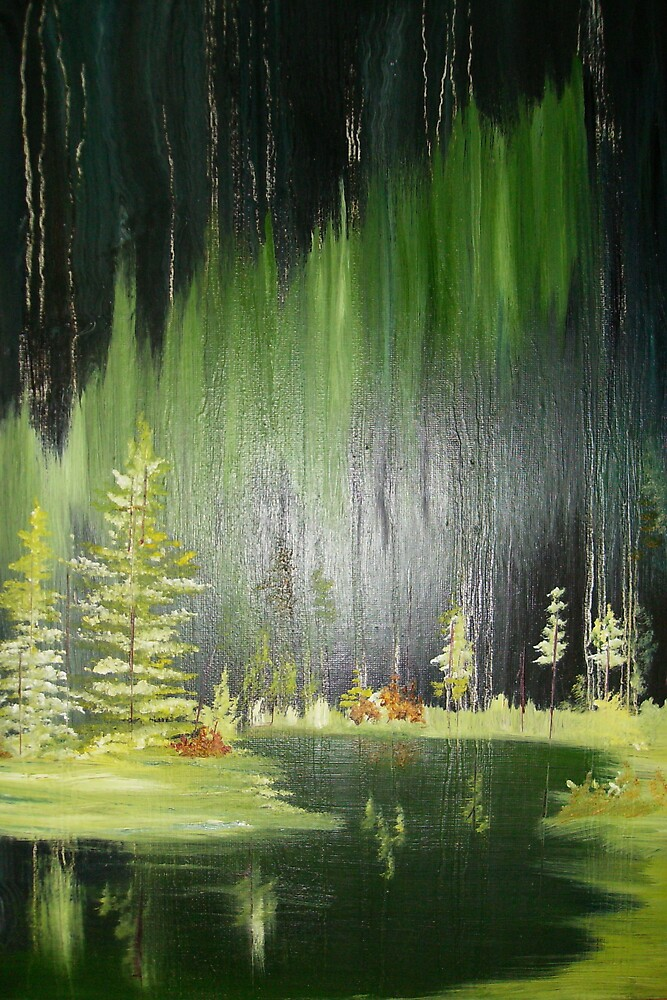 Green Trees in the Spring by terrilee