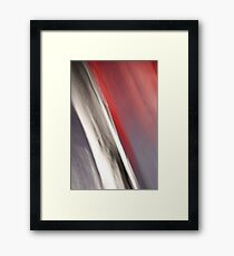 Virtual Brush Strokes Framed Print