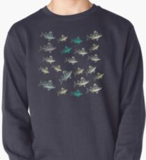 Flying Fish Blue Pullover