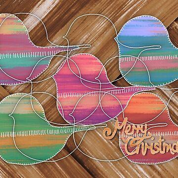 Christmas Robins I by karin
