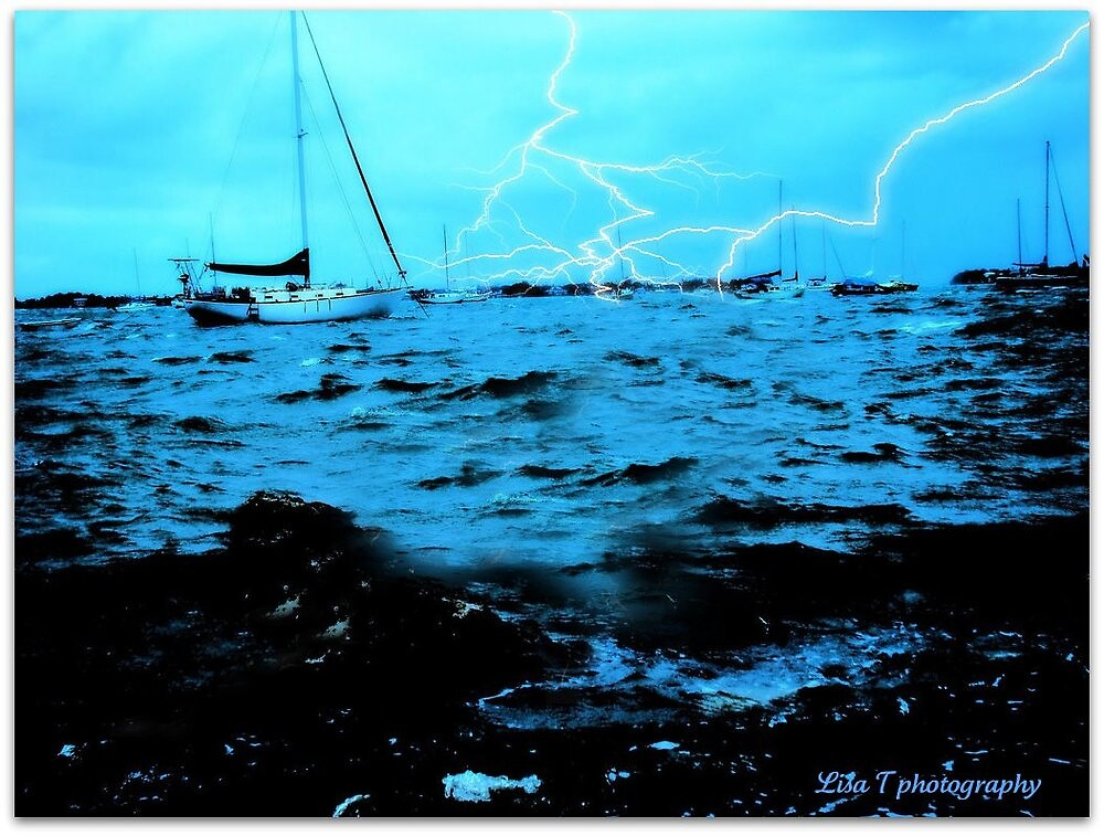 Stormy waters by Lisa  Trans