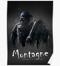 Montagne Poster