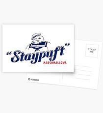 Stay Puft Marshmallow Man Postcards