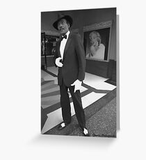 Hollywood Wax Museum Greeting Card