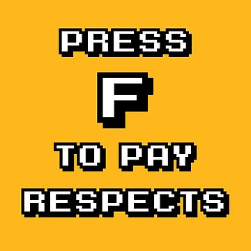 Press F-Pixel (v2) by BlueRockDesigns