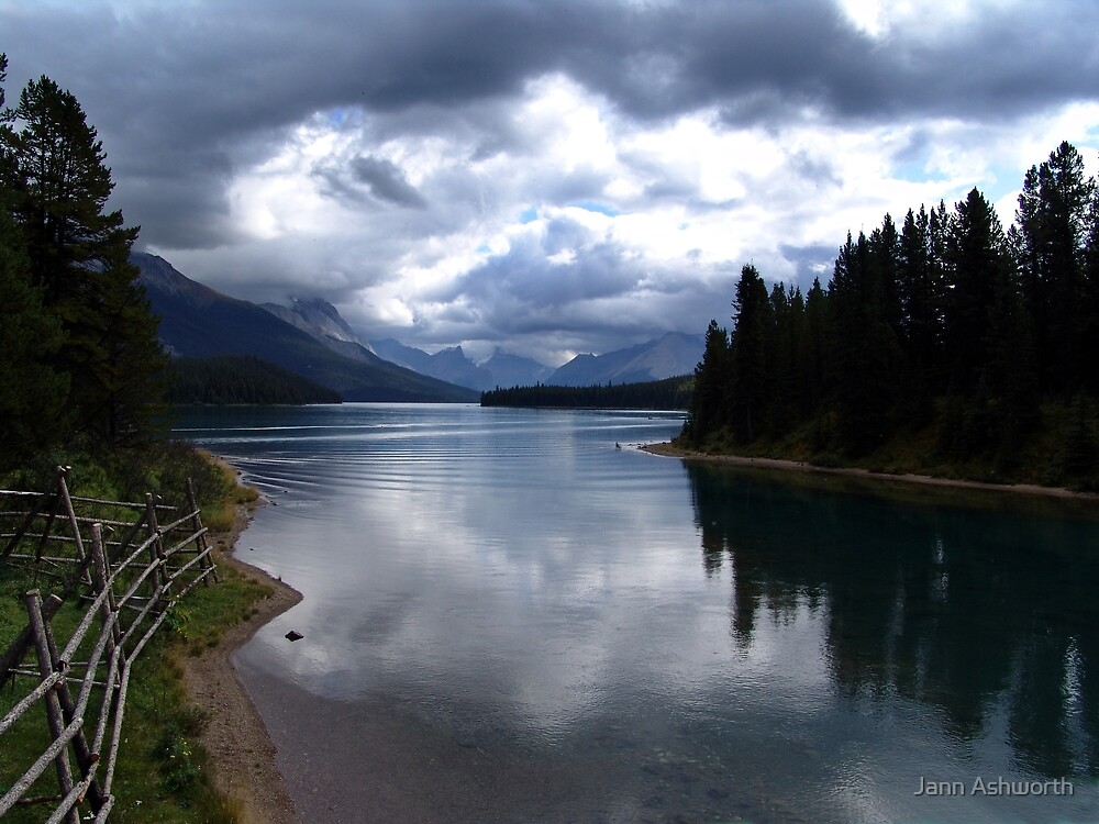 Lake Maligne (1) by Jann Ashworth
