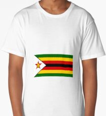 Flag of Zimbabwe Long T-Shirt