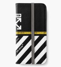 Off White Cover Full White Stripes iPhone Wallet/Case/Skin