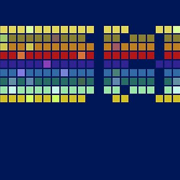 13th Doctor Pixel Rainbow by misterpillows