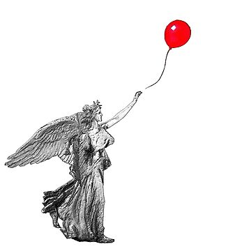 Rubino Angel Balloon Float Away by RubinoCreative