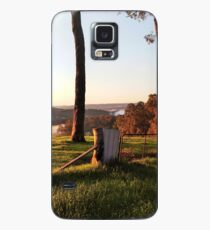 View from the fence to the hills Case/Skin for Samsung Galaxy