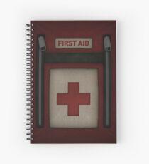 First Aid Kit Spiral Notebook