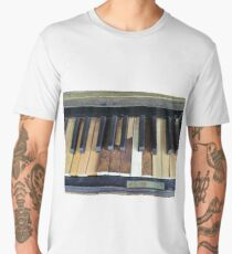 Banged up piano Men's Premium T-Shirt