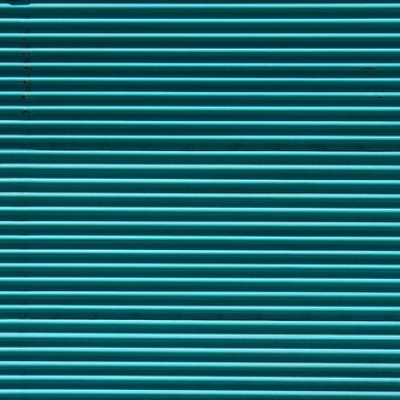 Turquoise Rolling Shutter by Mythos57