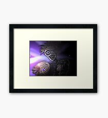 wit record Framed Print