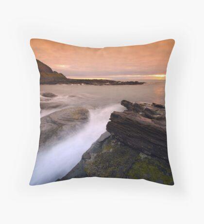 Sharp Rocks Throw Pillow