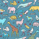 Fauna pattern by theeighth