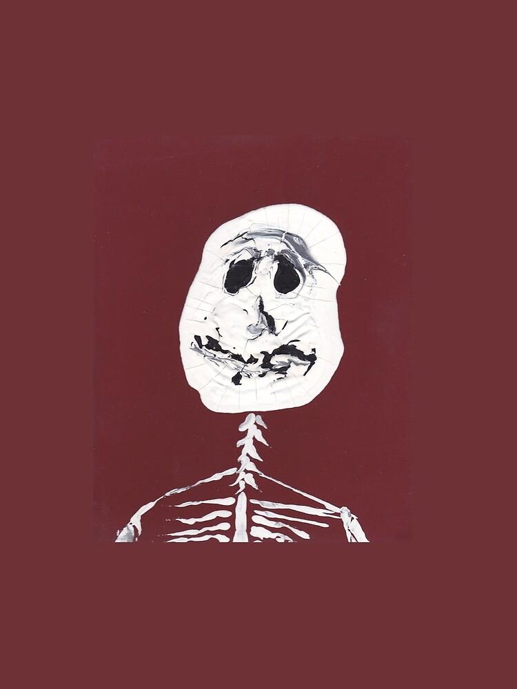 «Squelette - Martin Boisvert - Faces à flaques» par martinb1962