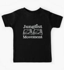 Junglist Bewegung Kinder T-Shirt