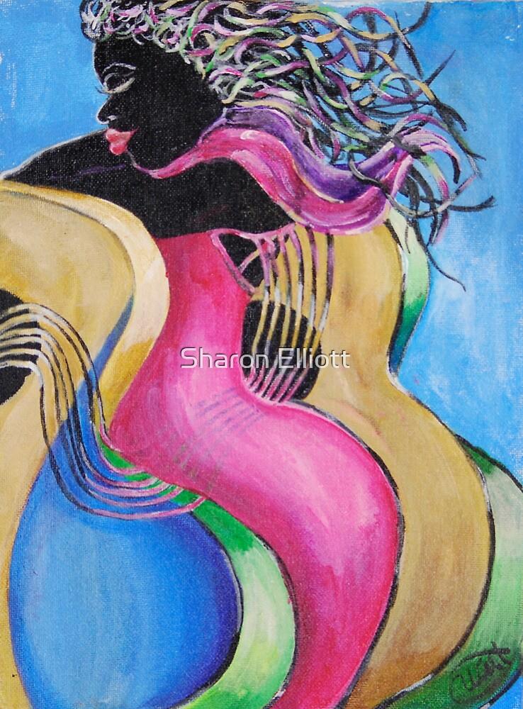 Stringing Me Along by Sharon Elliott