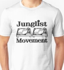 Junglist Bewegung Unisex T-Shirt