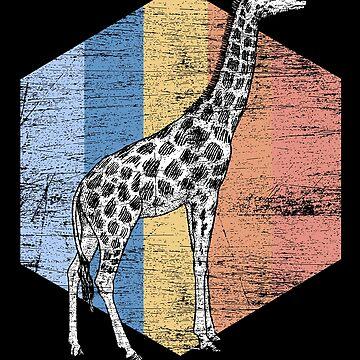 Giraffe Long neck by GeschenkIdee