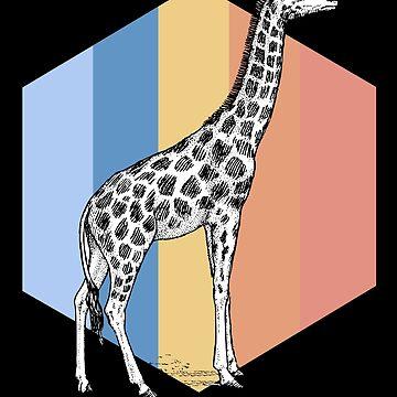 Giraffe cub by GeschenkIdee