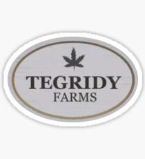 TEGRIDY FARMS South Park  Sticker