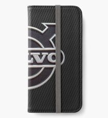Vinilo o funda para iPhone Volvo Carbon